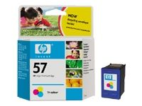 CARTUCHO HP COLOR 450CI/5151/5550/5552/6100/6110/7345 17ML Nº57