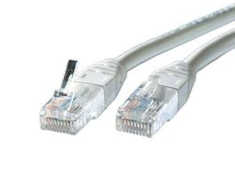 LATIGUILLO RJ45 2 M. CAT.5E FTP CCA AWG26 1 GIGABIT GRIS VALUE