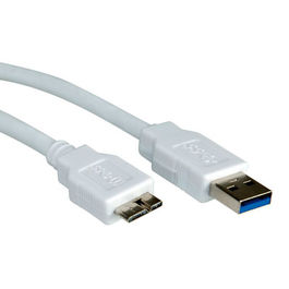 CABLE USB 3.0 0,8 M. AM/ MICRO B M BEIGE STANDARD