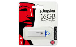 MEMORIA USB KINGSTON 16GB USB 3.0 DATATRAVELER I G4