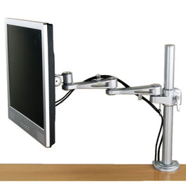 BRAZO MONITOR LCD/TFT SOBREMESA 5 PUNTOS D/PIVOTE, VESA 75/100, 10 KG, LONG.450 MM, REG. ALTURA VALUE